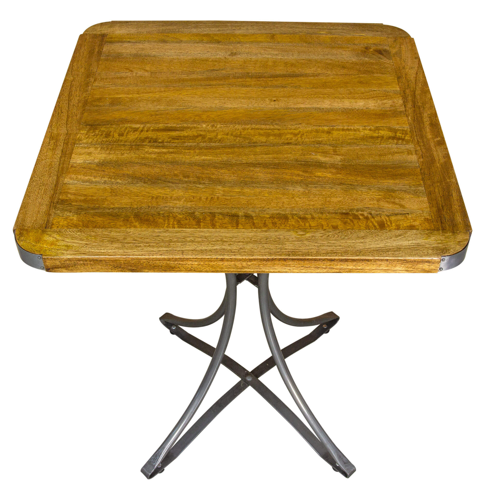 Urban Square Cafe Table x2 Chairs (60x60)