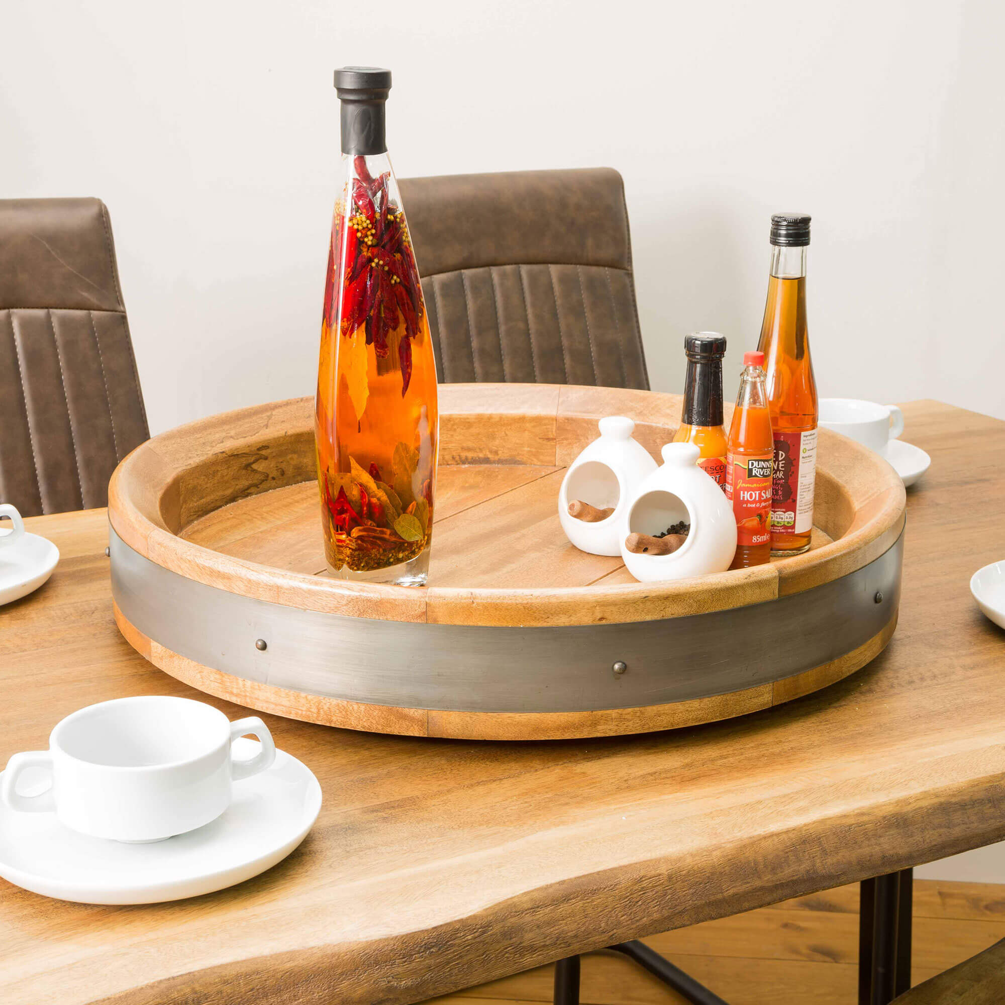 Urban Wine Barrel Server | Furniture Supplies UK