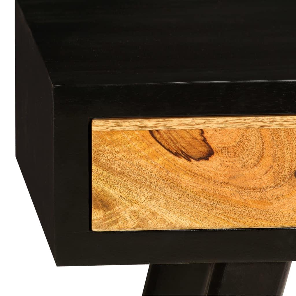 Writing Desk Solid Mango Wood 120x40x76 cm