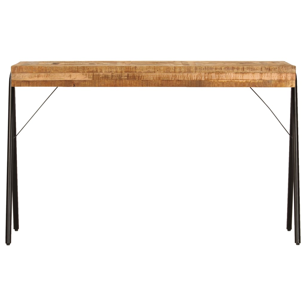 Writing Table Solid Mango Wood 118x50x75 cm |  | Brown
