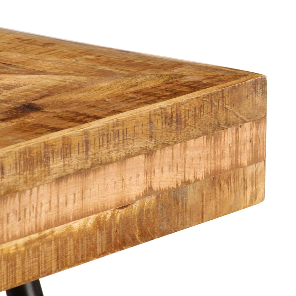 Writing Table Solid Mango Wood 118x50x75 cm