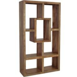 Yoga 100cm Wide Mango Bookcase Light Mango Colour | Furniture Supplies UK
