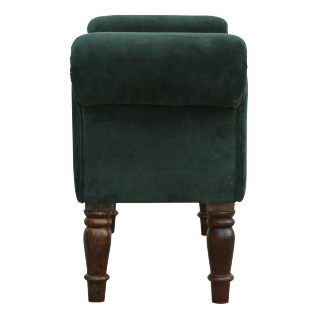 Bench In Green Velvet