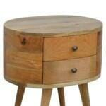 Rounded Bedside Table 3