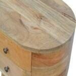 Rounded Bedside Table 4