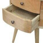Rounded Bedside Table 6
