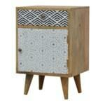 Mixed Pattern Bedside 2