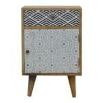 Mixed Pattern Bedside 1