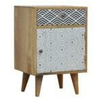 Mixed Pattern Bedside 3