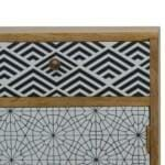 Mixed Pattern Bedside 4