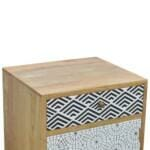 Mixed Pattern Bedside 5