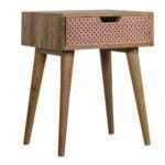 Perforated Copper Bedside 2
