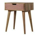 Perforated Copper Bedside 3