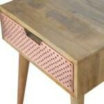 Perforated Copper Bedside 4