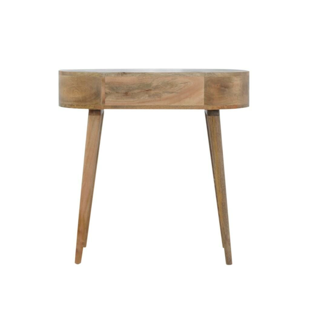 1 Drawer Console Table with Rounded Edges