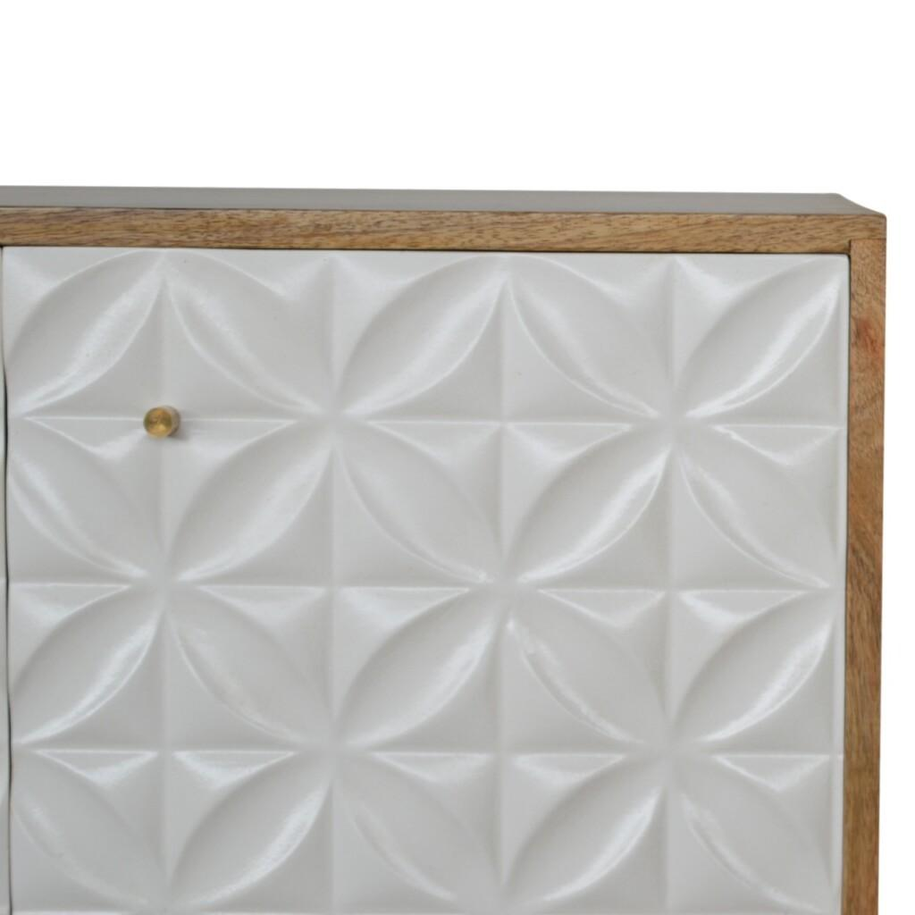 Diamond Carved Sideboard