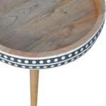 IN952 – Pattterned Nordic Style End Table 2