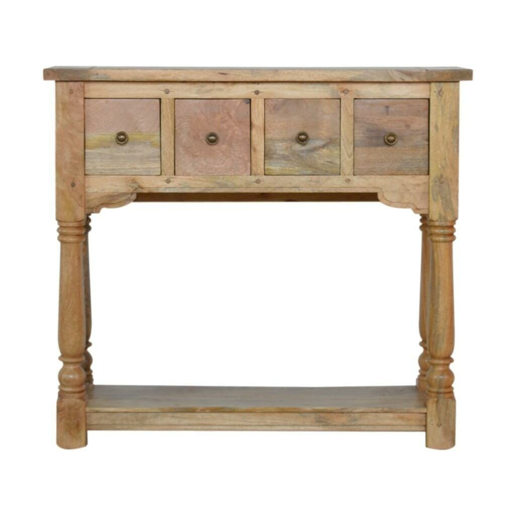 ASB326 - Granary Royale 4 Drawer Console Table