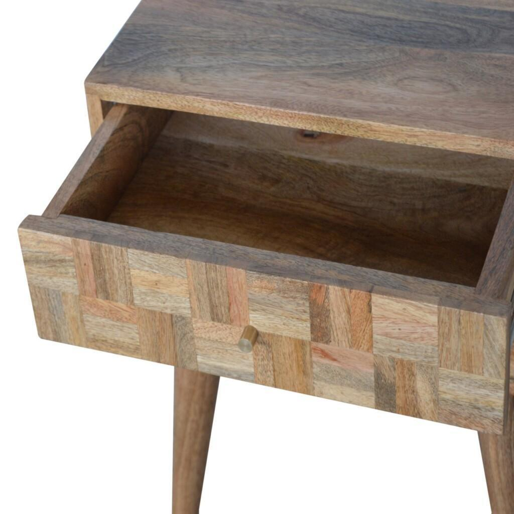 Mixed 2 Drawer Bedside
