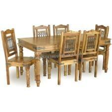 Jali 180cm Dining Table 8 Chairs
