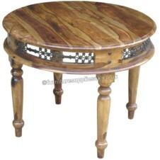 Jali 1mtr Round Dining Table
