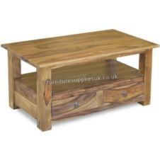 Jali 2 Drawer Coffee Table & TV Stand