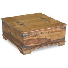Jali Square Trunk Coffee Table