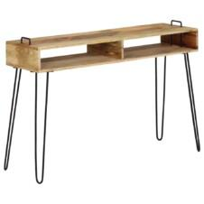 Console Table Solid Mango Wood 115x35x76 cm