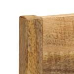 Dining Chairs 2 pcs Solid Mango Wood 4