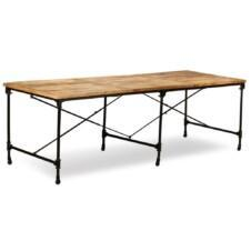 Dining Table Solid Mango Wood 240 cm