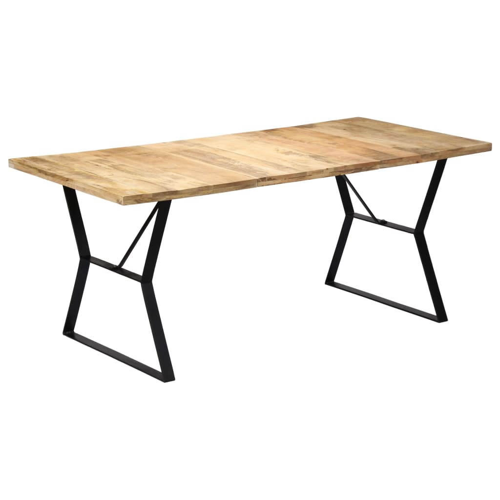 Dining Table 180x90x76 cm Solid Mango Wood