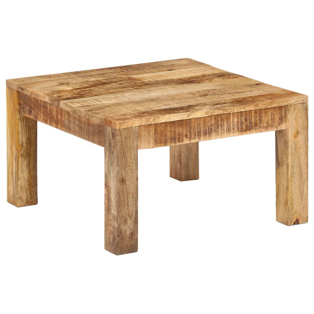 Coffee Table 60x60x35 cm Solid Mango Wood