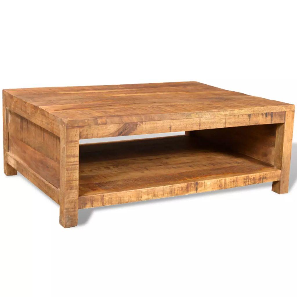 Coffee Table Solid Mango Wood