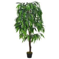 Artificial Plant Mango Tree with Pot Green 140 cm