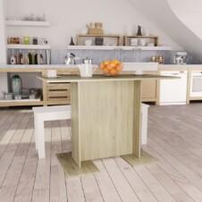 Dining Table Sonoma Oak 110x60x75 cm Chipboard