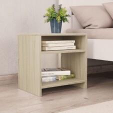 Bedside Cabinets 2 pcs Sonoma Oak 40x30x40 cm Chipboard