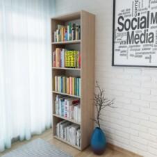 Bookshelf Chipboard 60x31x190 cm Oak