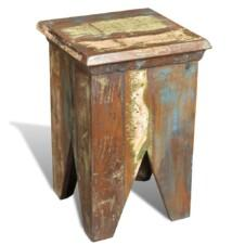 Stools Reclaimed Wood Antique Style