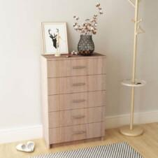 Storage Cabinet Chipboard 71x35x108 cm Oak