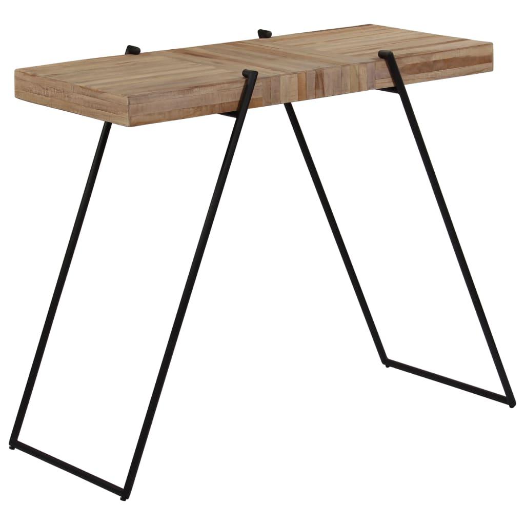 Bar Table Reclaimed Teak 120x55x107 cm