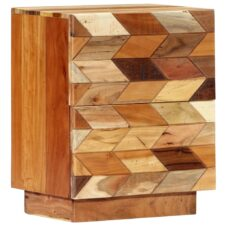 Bedside Table 40x30x50cm Solid Reclaimed Wood