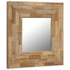 Mirror Reclaimed Teak 50x50 cm