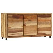 Sideboard Cabinet 160x38x79 cm Solid Reclaimed Wood