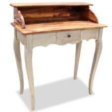 Writing Desk Solid Reclaimed Wood 80x40x92 cm