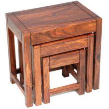 Sheesham Wood Nest Of Tables